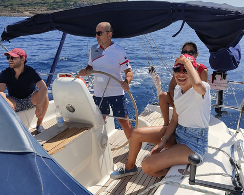 Corso vela week end